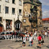 GW01369-32 = Wedding and the Old Town Hall with Astronomical Clock plus the Old Town Square. Prague, Czech Repulic. Czech Repulic. Aug 1995.