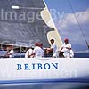 GW14265 = Bribon - in IMS 500 category skippered by His Majesty King Juan Carlos of Spain during 22nd Copa Del Rey (Kings Cup Regatta 2003 ) in the Bay of Palma de Mallorca, Baleares, Spain. 01 August 2003.