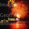 GW04020-64 = San Sebastian Fiesta fireworks over Palma.