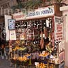 GW05300 = Sobrasadas (local sausages) in Colmado Santo Domingo (shop) in Calle Santo Domingo, Palma de Mallorca, Baleares, Spain. 1999.