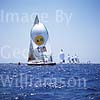 GW14420 = Scene with CAM during the 22nd Copa Del Rey (Kings Cup Regatta 2003 ) in the Bay of Palma de Mallorca, Baleares, Spain. 01 August 2003.