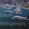 GW16095 = Aerial view of Club de Mar marina and C'an Barbara area of Paseo Maritimo, Palma de Mallorca, Baleares, Spain. 26th August 2003.